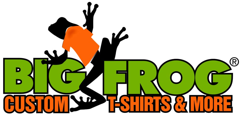 big frog custom t shirts more closed screen printing