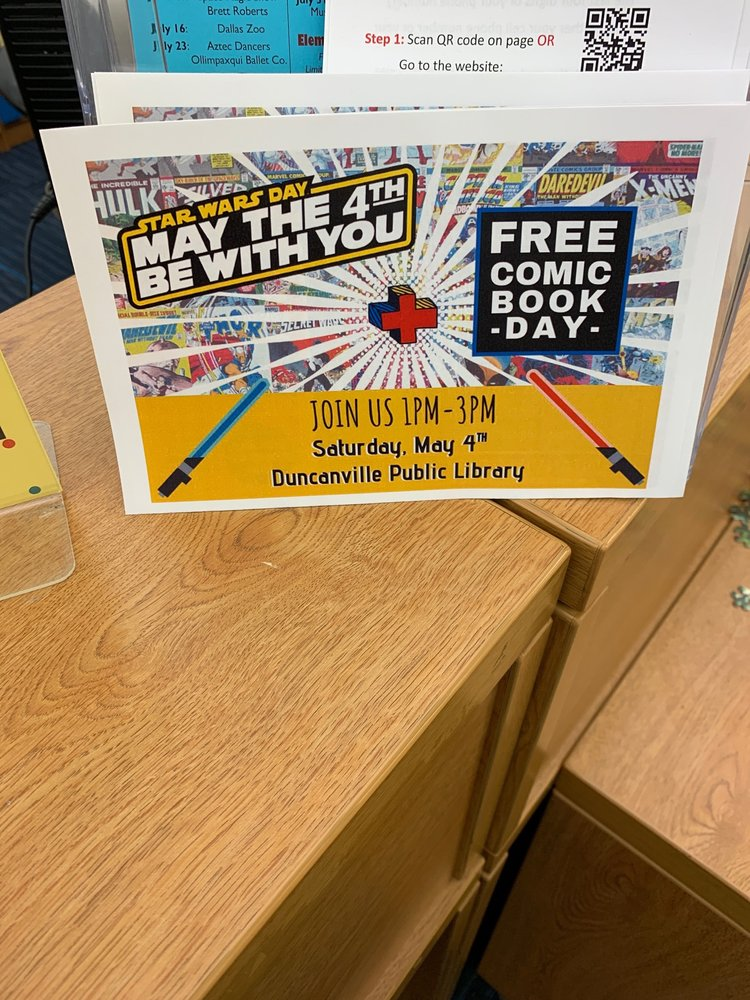 Duncanville Public Library: 201 James Collins Blvd, Duncanville, TX