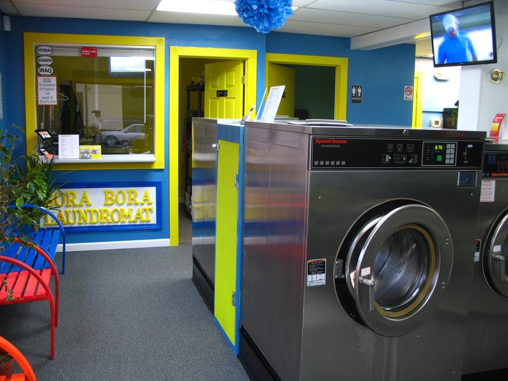 Bora Bora Laundromat: 674 Main St, Ansonia, CT