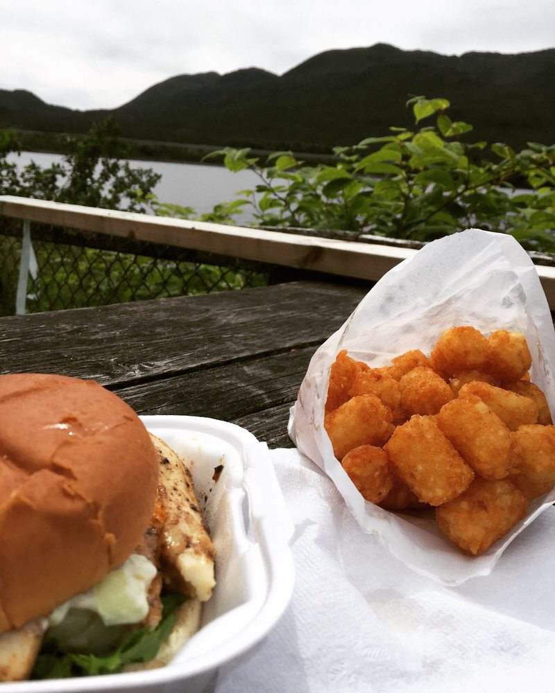 AJ's Gourmet Burgers: 4761 N Tongass Hwy, Ketchikan, AK