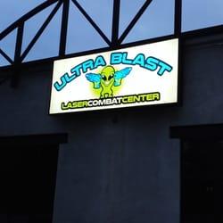 Ultra Blast Laser Combat Center Laser Tag Birmingham