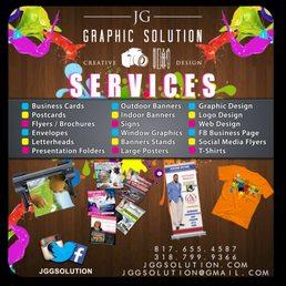 Jg graphic solution 21 photos graphic design bossier city la photo of jg graphic solution bossier city la united states jg graphic reheart Images
