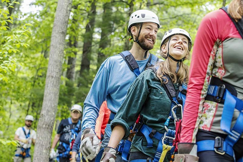Brainerd Zip Line Tours: 9898 County Rd 77 SW, Nisswa, MN