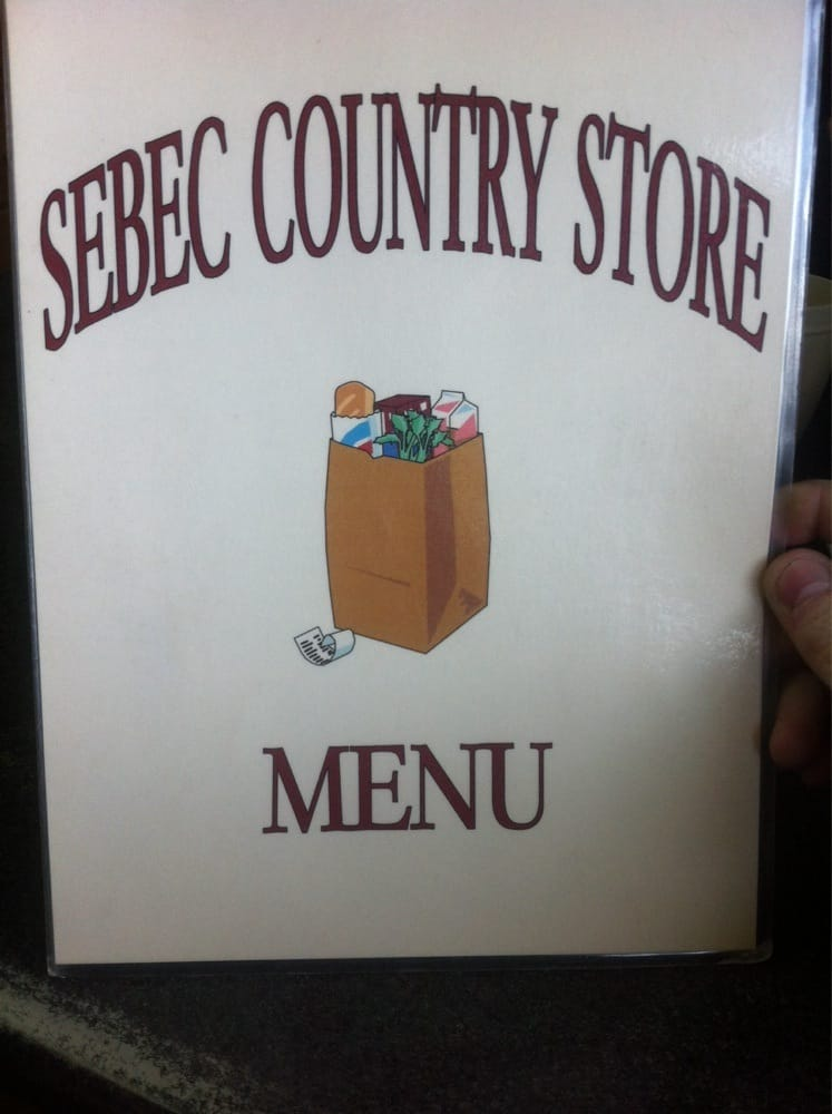 Sebec Country Store: Rt 16 Sebec, Maine, ME