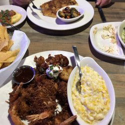 Photo Of Rockfish Seafood Grill Lubbock Tx United States Coconut Shrimp W