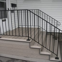 Awesome Photo Of Mainely Handrails   Benton, ME, United States. Exterior Wrought Iron  Handrails