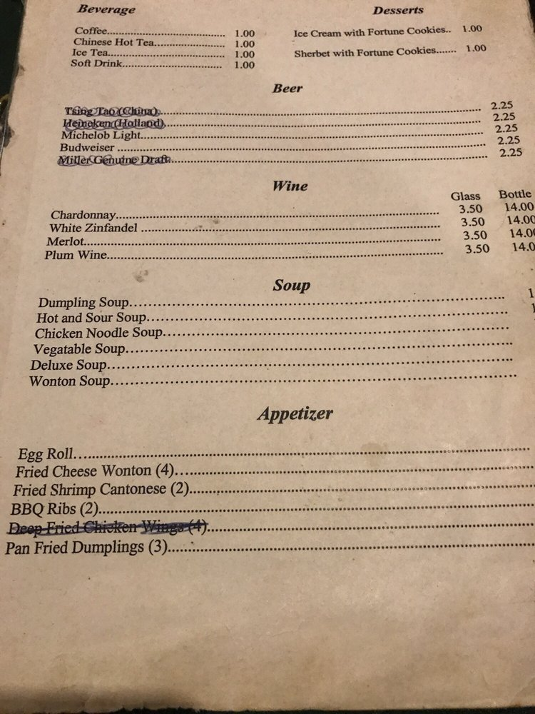 Moy's Special Occasion Restaurant: 2339 West Ave, Ashtabula, OH