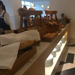 photo of hotel barcel torre de madrid madrid spain amazing selection of bread