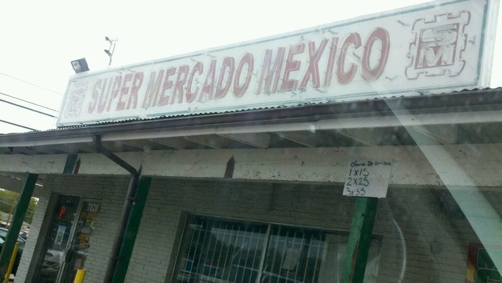 Super Mercado Mexico: 7828 Lake June Rd, Dallas, TX