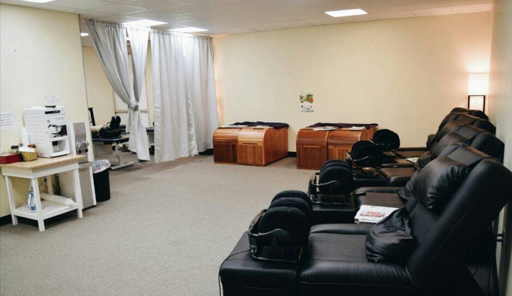 The Massage Chairs And Sauna Facilities Yelp