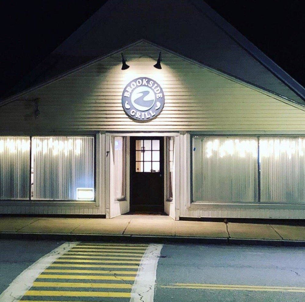 The Brookside Grill: 7 Main St, Shirley, MA