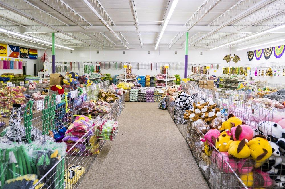 Mardi Gras Bead Factory: 1145 Hwy 90, Westwego, LA