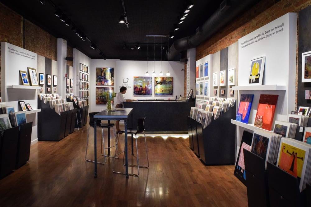 Carre d'artistes Art Gallery Philadelphia