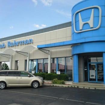 Bob rohrman honda 13 reviews dealerships 821 for Honda dealership hours