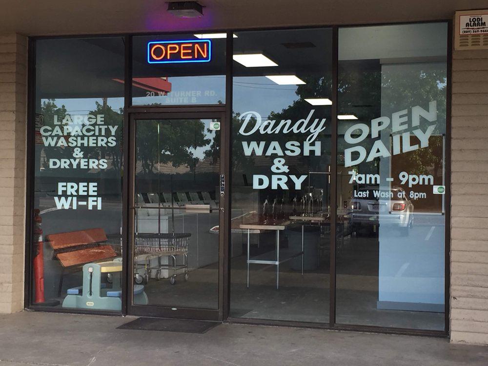 Dandy Wash & Dry: 20 W Turner Rd, Lodi, CA