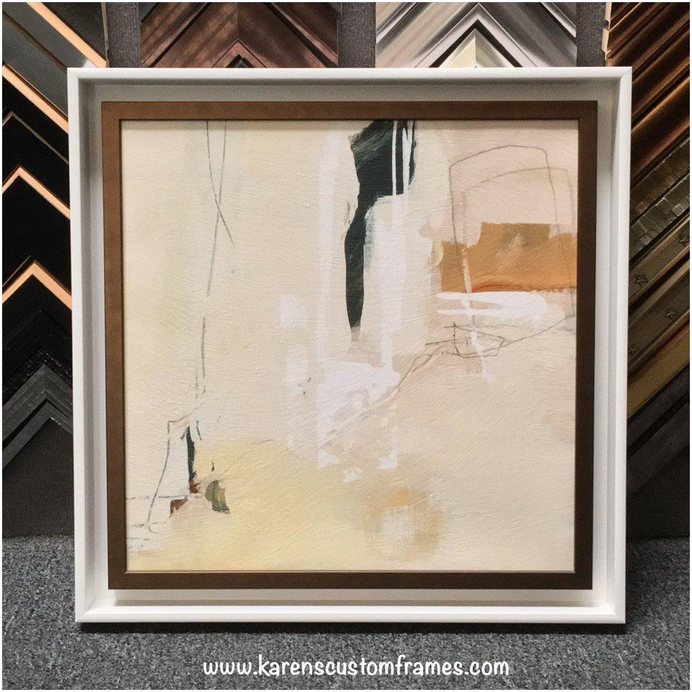 Custom design and framing by Karen\'s Detail Custom Frames of Orange ...