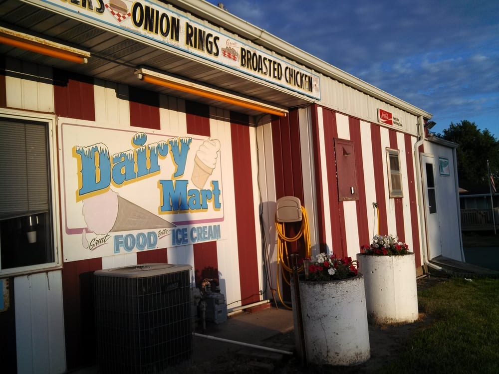 The Dairy Mart: 325 E 9th St, Glidden, IA