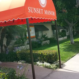Commercial Awning For Sunset Manor In The City Of El Monte