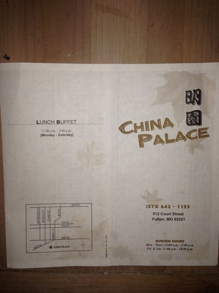 Food from China Palace