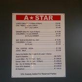 a star buffet order online 87 photos 148 reviews japanese rh yelp ca A Star Buffet Logo a star buffet menu price