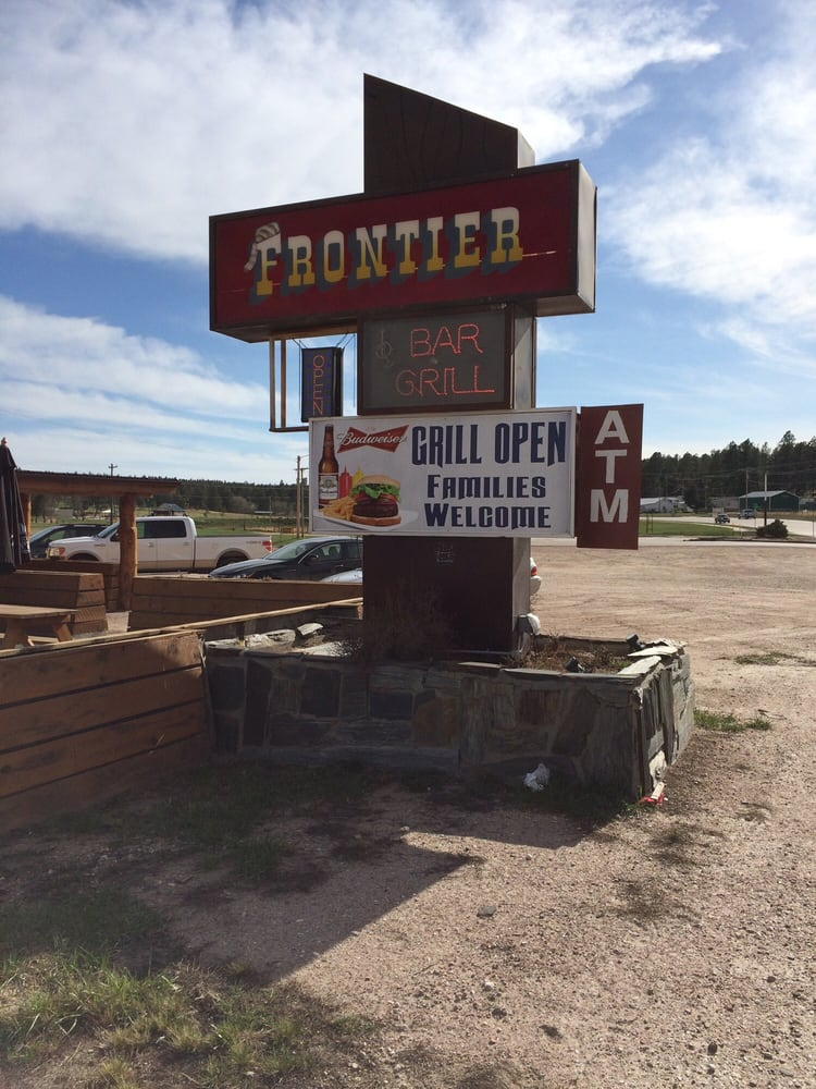 Frontier Bar & Grill: 680 Mt Rushmore Rd, Custer, SD