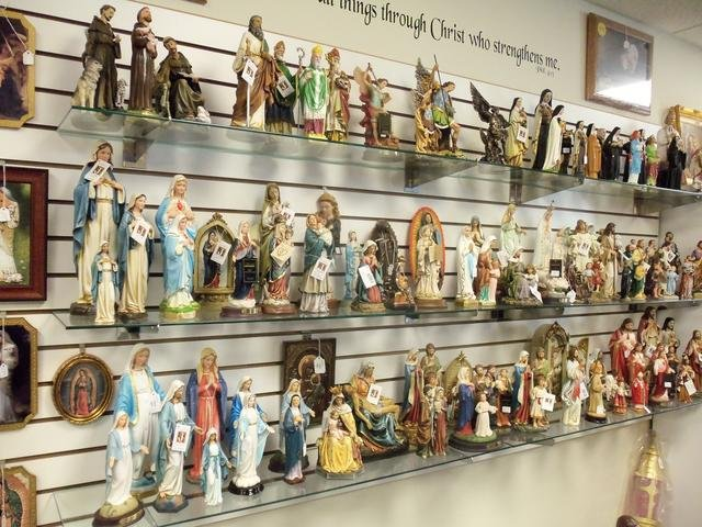 Silver Cross Catholic Books & Gifts: 18 S Main St, Fort Loramie, OH