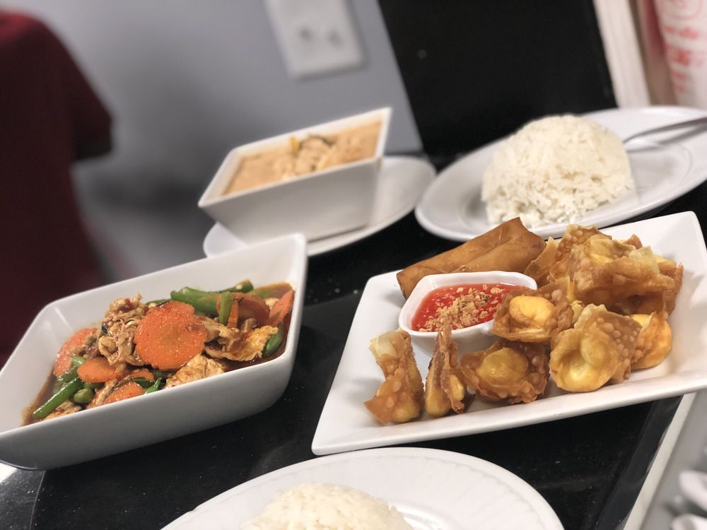 Food from Prik Thai Cuisine