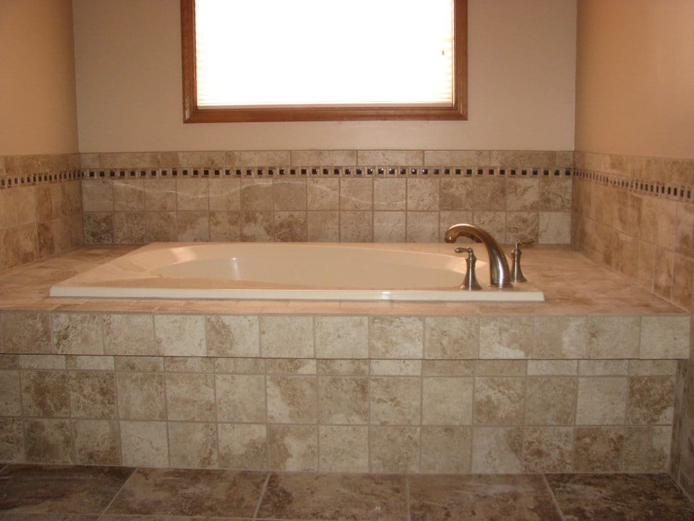 Ceramic Tile Jacuzzi Tub Deck Marlton Nj Yelp
