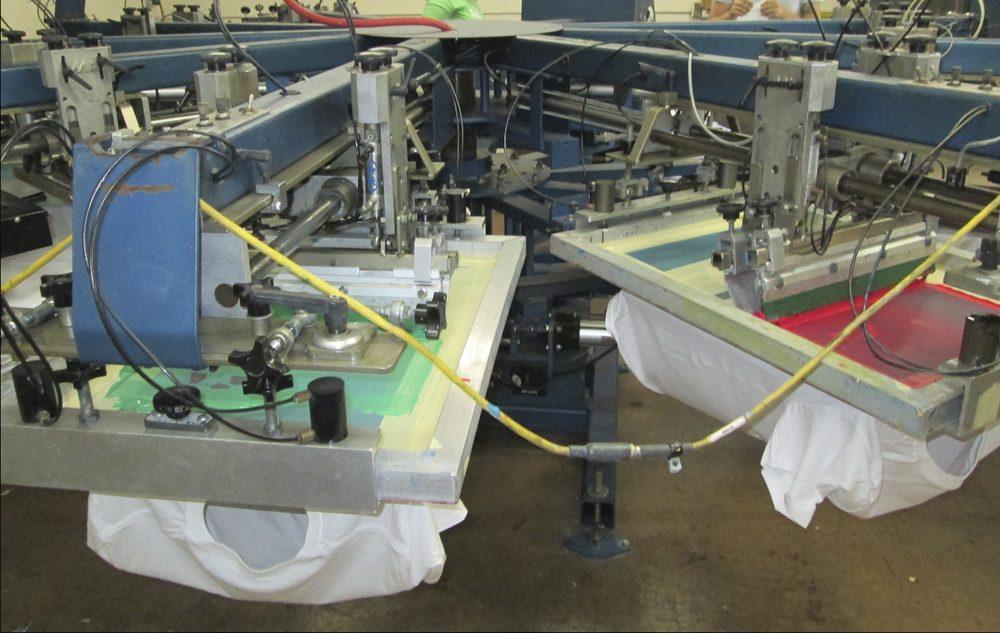 Under Pressure Screen Printing