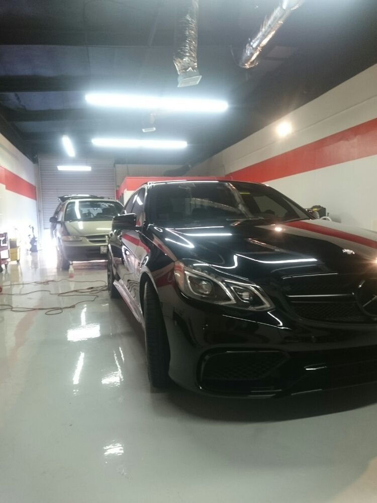 Paint correction performed prior ppf installation yelp for Mobile auto painting