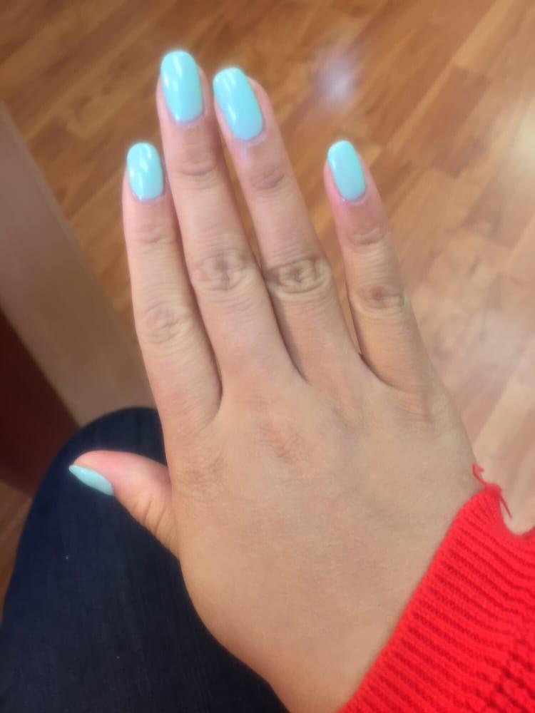 Tiffany blue gel nails essie - Yelp