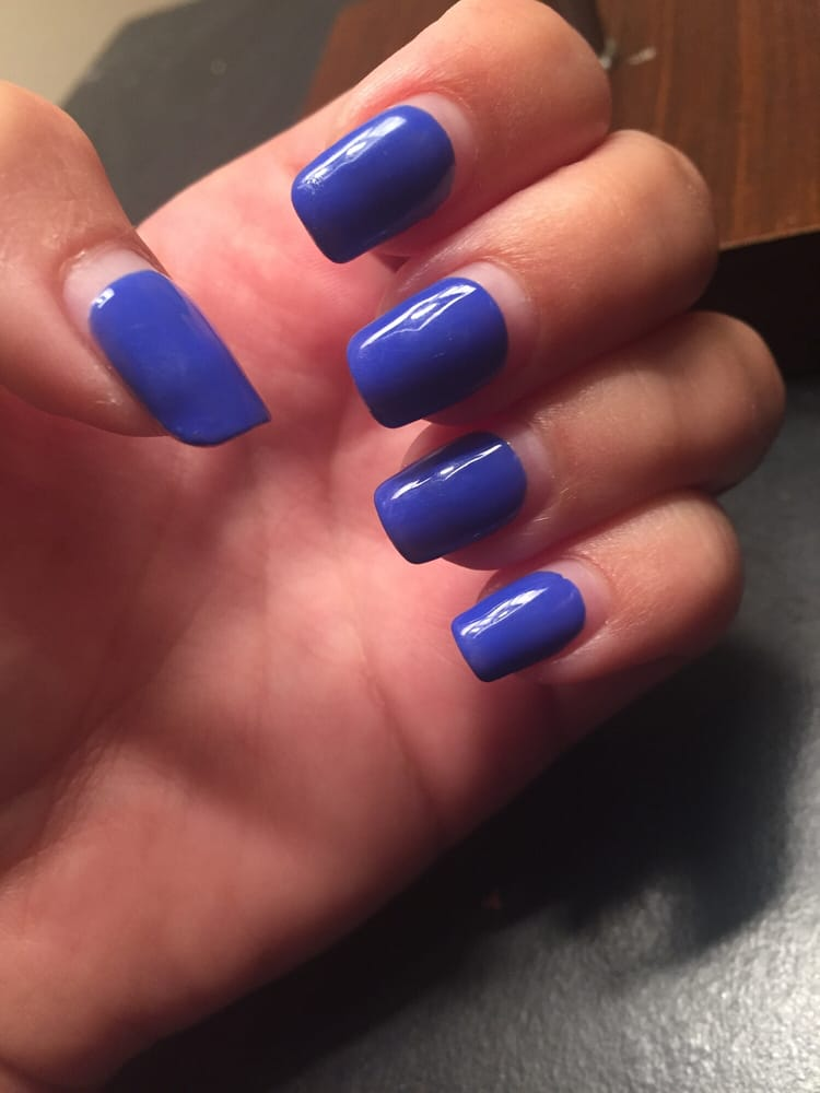 My nails after growing 6 month