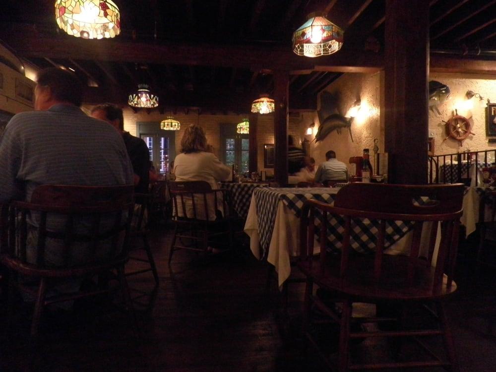 Upstairs seating yelp for Fish market alexandria va