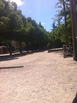 Boulodrome municipal f reningar s llskapsklubbar parc jourdan aix en provence frankrike - Parc jourdan aix en provence ...