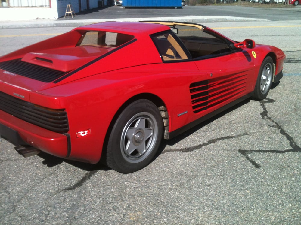 ferrari testarossa tune up yelp. Black Bedroom Furniture Sets. Home Design Ideas