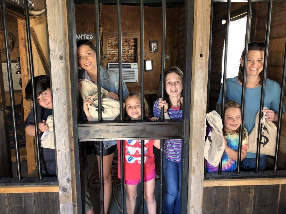 The Oatman Jailbreak Escape Room: 141 1/2 Main St, Oatman, AZ