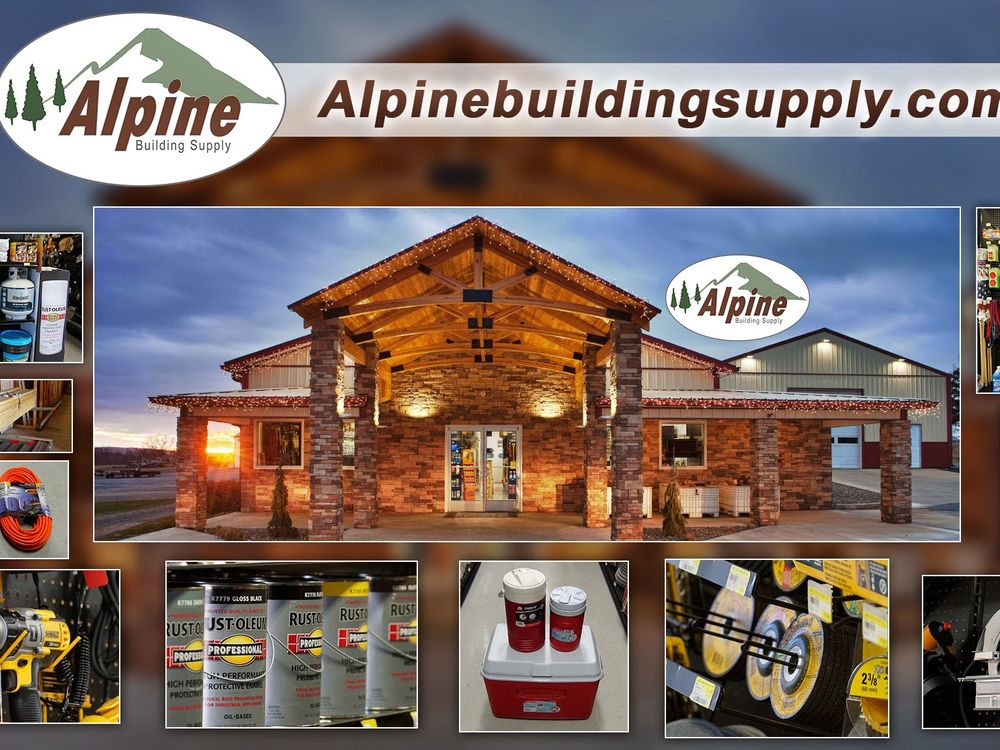 Alpine Building Supply: 696 South Route 183, Schuylkill Haven, PA