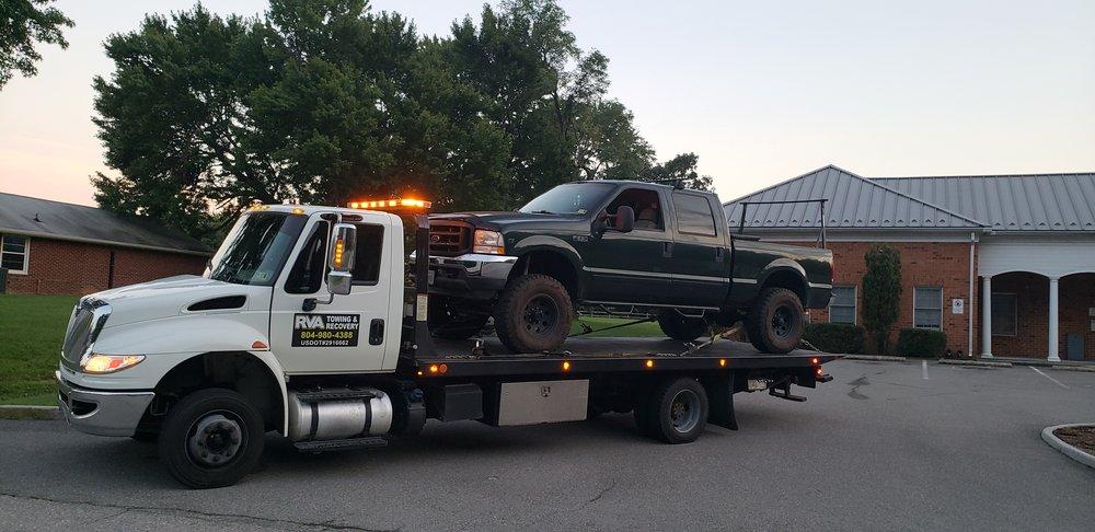 RVA Towing & Recovery: Glen Allen, VA