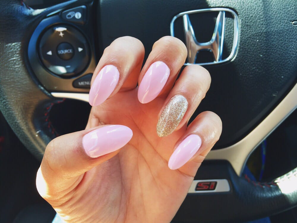 Gel manicure by betty dnd gel nail polish sweet romance for 4 season nail salon