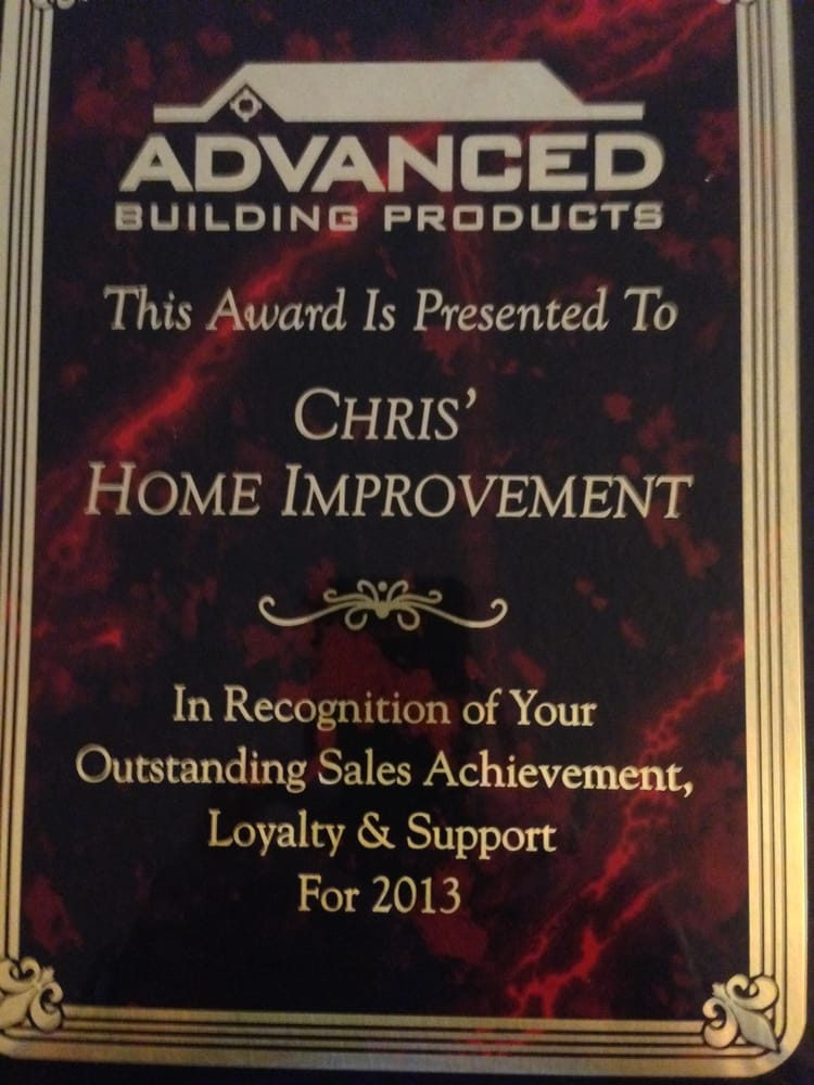 Chris Home Improvements: Thibodaux, LA