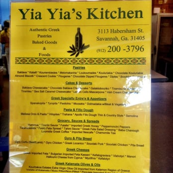 Yia Yia S Kitchen Savannah Ga