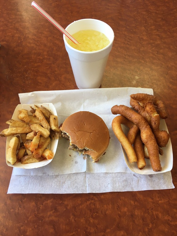 Airport Drive-In Restaurant: 910 Ayersville Rd, Madison, NC