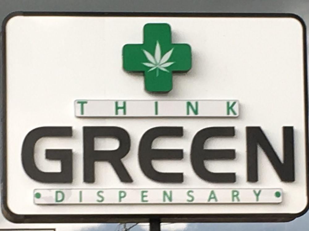 Think Green Dispensary: 421 S Van Buren St, Enid, OK