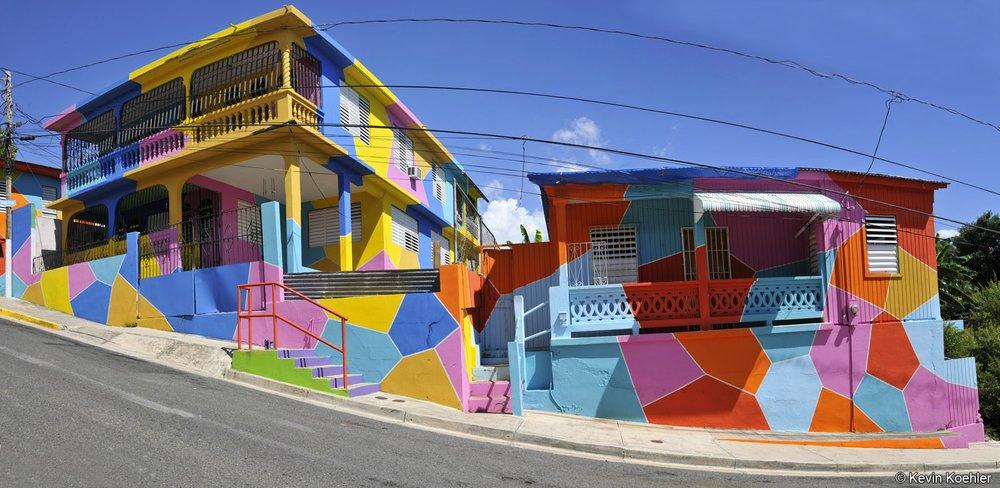 Macromural Brisa Tropical: Calle E Sanchez Lopez S/N, Yauco, PR