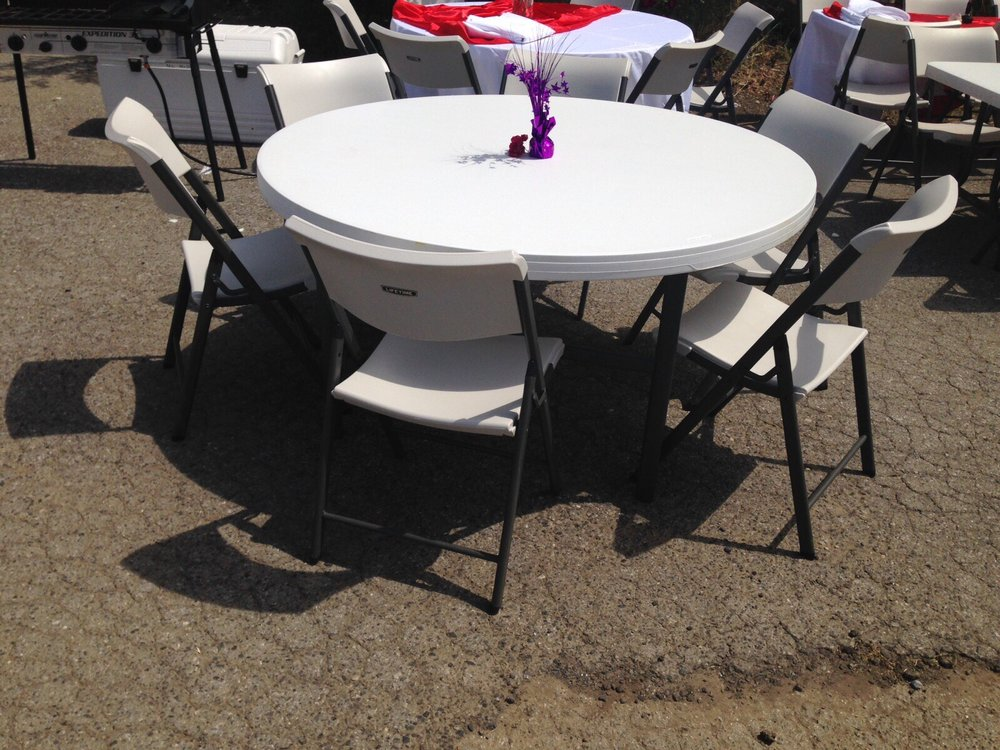 Table And Chair Rentals Gilroy Ca