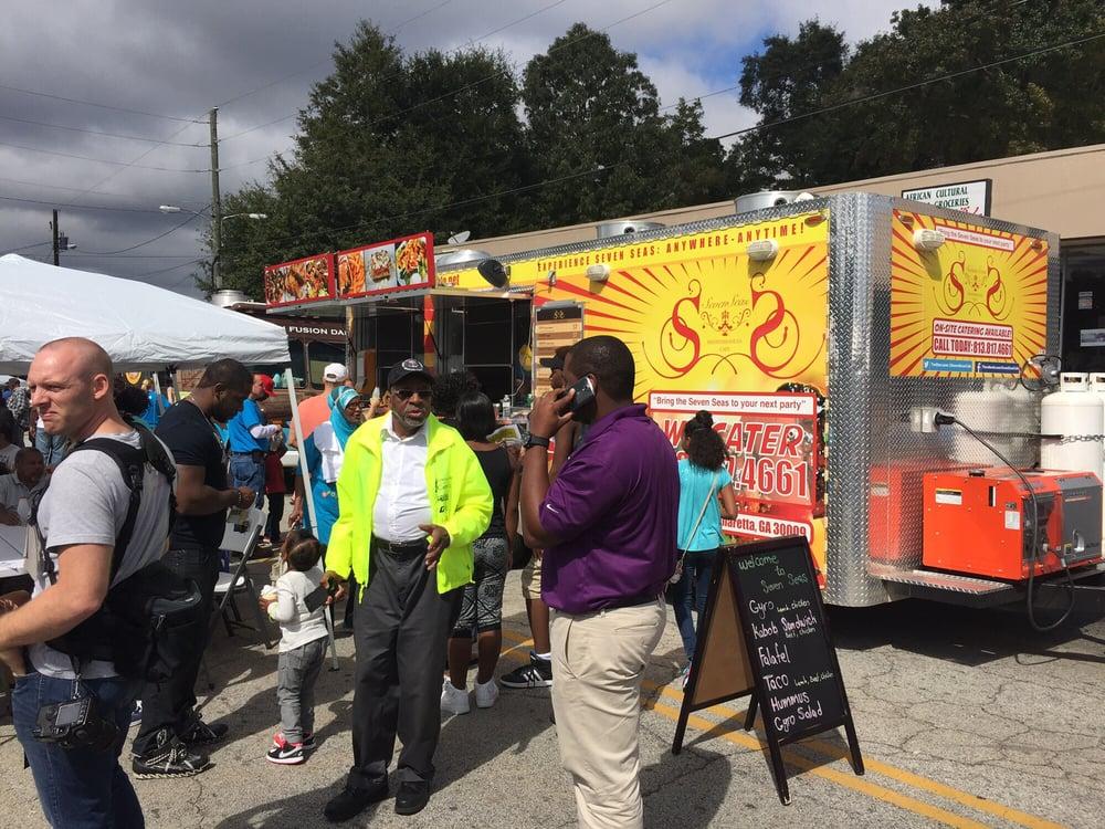 Clarkston Food Truck Fest: 1055 Rowland St, Clarkston, GA