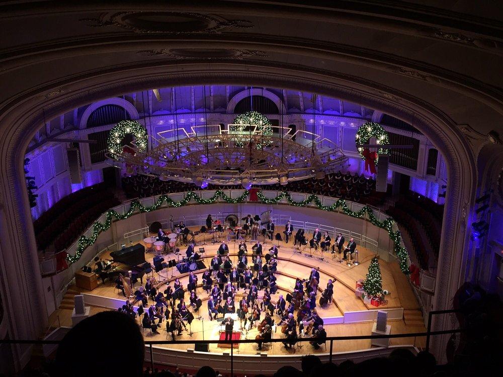 Chicago Symphony Orchestra: 220 S Michigan Ave, Chicago, IL