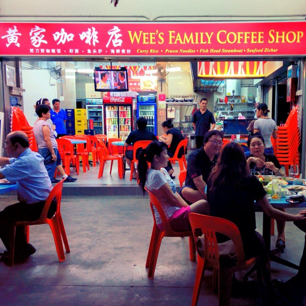Wee's Family Coffee Shop Singapore