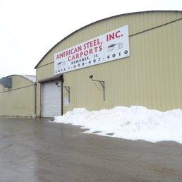 Photo Of American Steel Carports   Kewanee, IL, United States. Illinois Shop