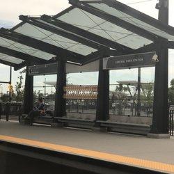 Photo of Central Park Station - Denver CO United States. Central Park stop & Central Park Station - Train Stations - 8175 E Smith Rd Stapleton ...